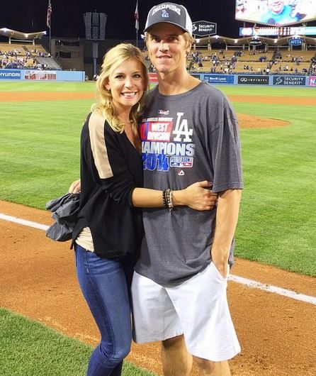 Emily Kuchar Greinke MLB player