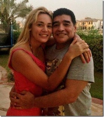 Rocio Oliva: Argentine Soccer Star Armando Maradona's ex Girlfriend