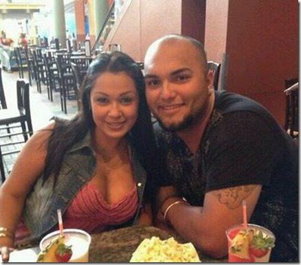Veronica Salas- MLB player Yusmeiro Petit's wife