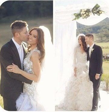 Michael Clarke Kyly Boldy wedding