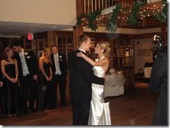 David Robertson Erin Cronin wedding picture