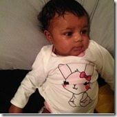 Chloe Jones Cardale Jones daughter pic
