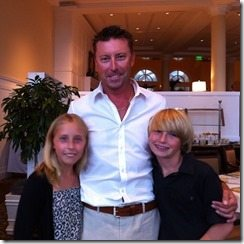 Robert Allenby children