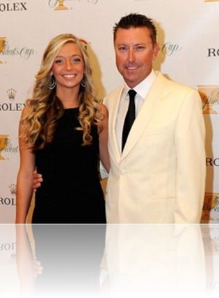 Robert Allenby girlfriend Ashley Widmann photo