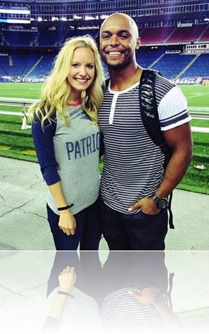 Shane Vereen girlfriend Taylour Rutledge-pic