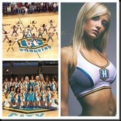 Talor Reazin cheerleader Hornets