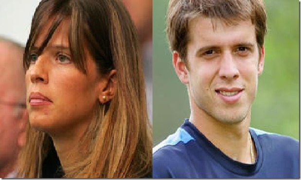 Alessia Fauzzi Muller Tennis player Gilles Muller's Wife