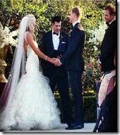Jessica Gysin Jimmy Clausen wedding pic