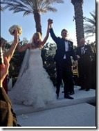 Jessica Gysin Jimmy Clausen wedding pics