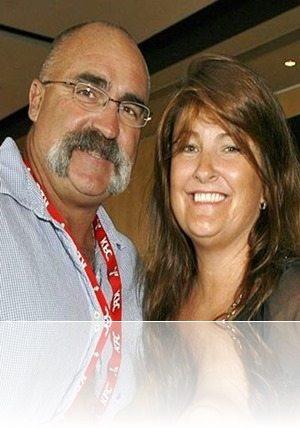 Merv Hughes wife Sue Hughes