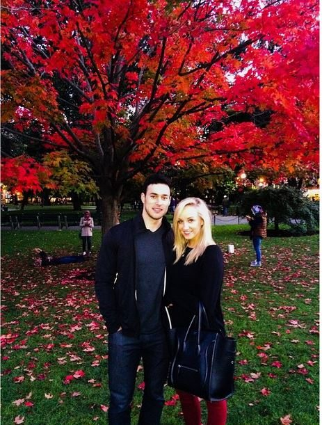 Matt Lombardi dating Nastia Ljukin