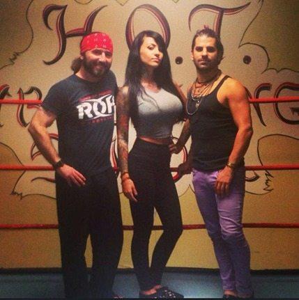 Zahra Schreiber nxt wrestler photos