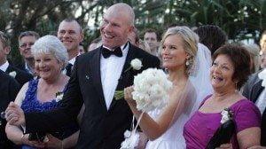 barry-hall-wife-sophie-raadschelders-wedding-pic