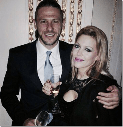 Evangelina Anderson: soccer player Martin Demichelis' wife