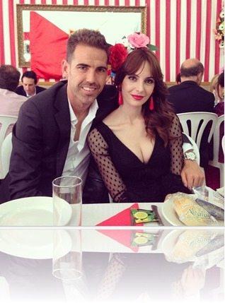Fernando Navarro wife Ana Ruiz pic
