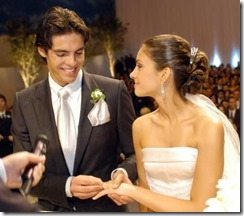 Kaka Carol celico wedding pic