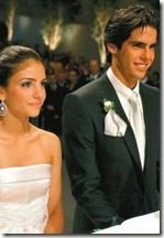 Kaka Carol celico wedding