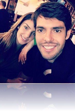 Kaka wife Caroline Celico