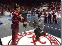 Kevin Norwood Kayla Williams proposal