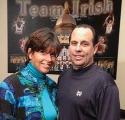 Tish Brey Notre Dame Coach Mike Brey's Wife