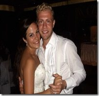 Mike Grella Jessica Mirandi wedding pics