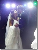 Mike Grella Jessica Mirandi wedding picture