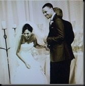 Stephen Curry Ayesha Alexander wedding photo