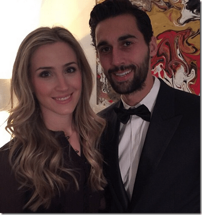 Carlota Ruiz: Real Madrid player Alvaro Arbeloa's Wife