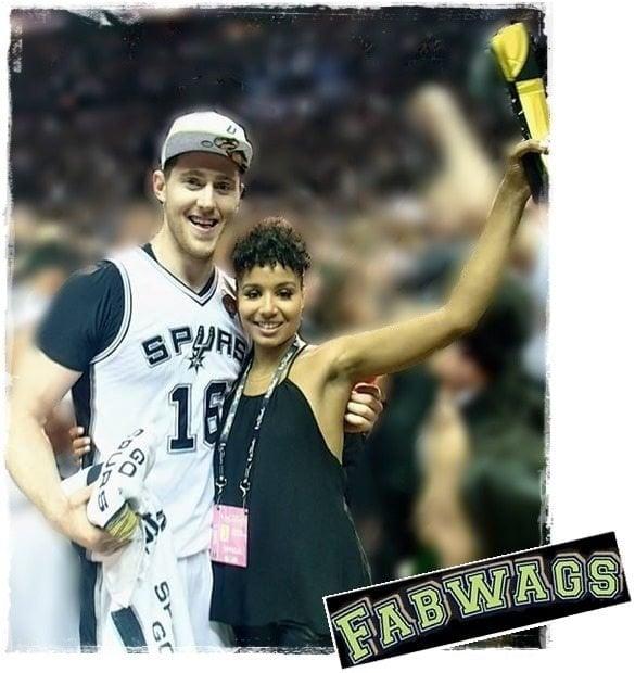 Aron Baynes' Wife Rachel Adekponya
