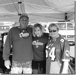 Chelsea Kilgore Redick family
