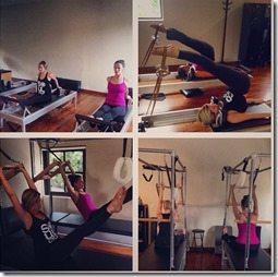 Chelsea Kilgore redick pilates