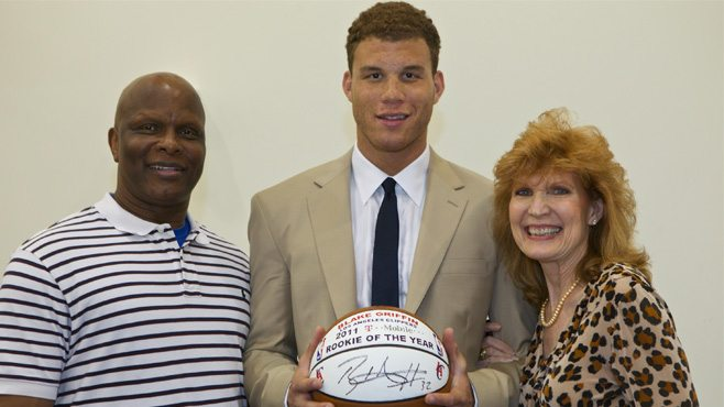 Blake Griffin Parents Gail and tommy griffin reside