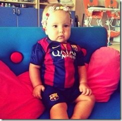 Ivan Rakitic daughter