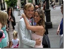 Ivan Rakitic wife Raquel Mauri Rakitic_photo