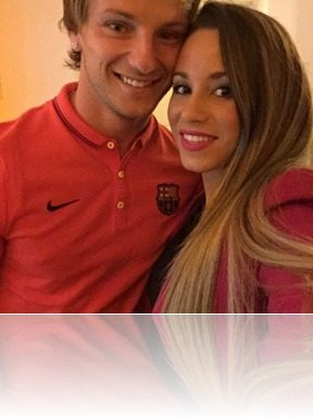 Ivan Rakitic wife Raquel Rakitic