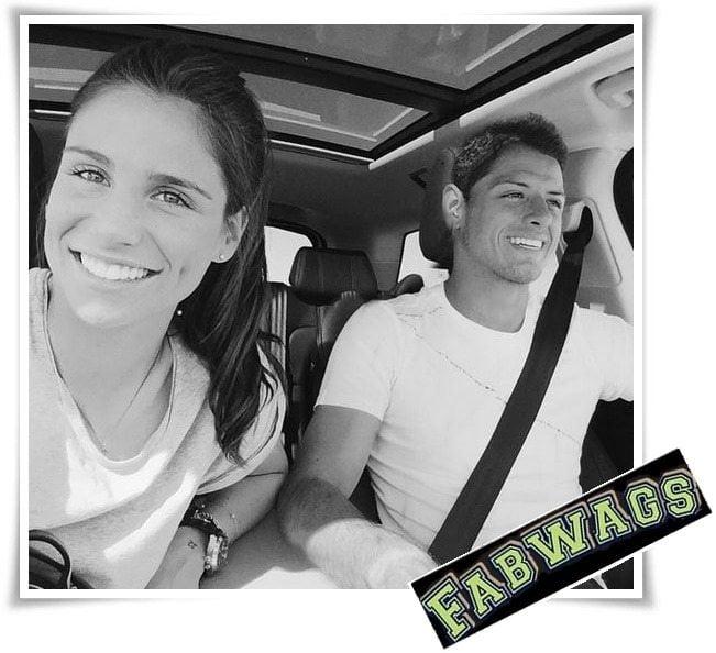 Lucia Villalon: Soccer Player Javier Chicharrito Hernandez' Girlfriend