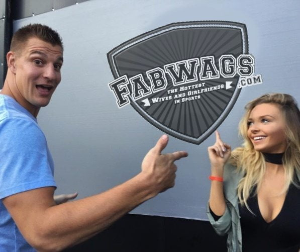 Camille Kostek Rob Gronkowski's Cheerleader Girlfriend