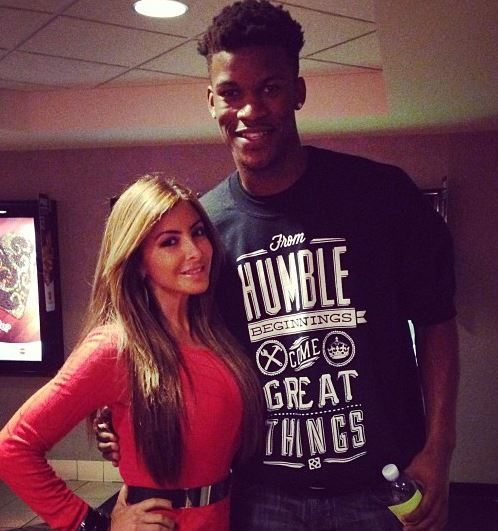 jimmy butler and his family