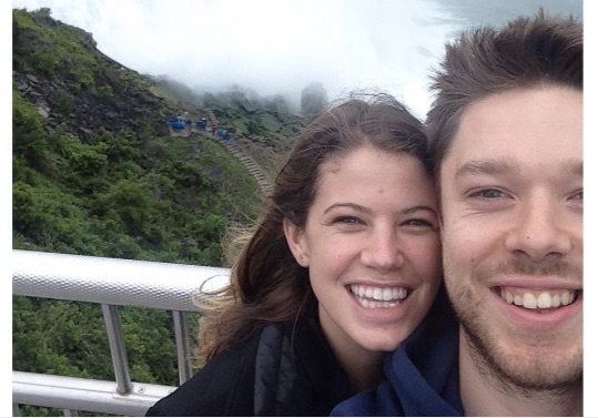 Matthew Dellavedova's Girlfriend Anna Schroeder