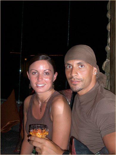 Rio Ferdinand wife Rebecca Ellison pic