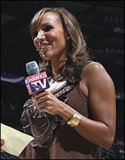 Simone Ward atlanta Hawks reporter