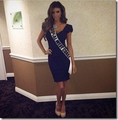 Vanessa Golub Miss Regional west coast