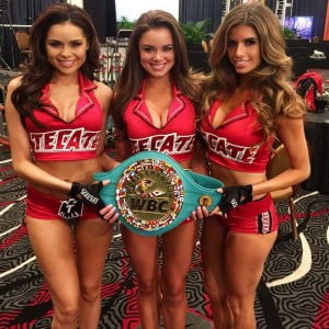 Vanessa golub tecate ring girl