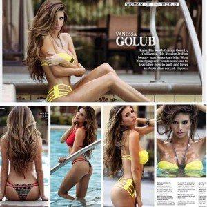 Vanessa Golub Tecate ring girl_pic