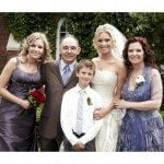 Antoine Vermette wife Karen Bonneau Vermette wedding picture