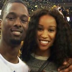 Harrison Barnes' girlfriend Brittany Johnson