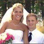 Luke Ridnour Katie Reaome Ridnour wedding pic