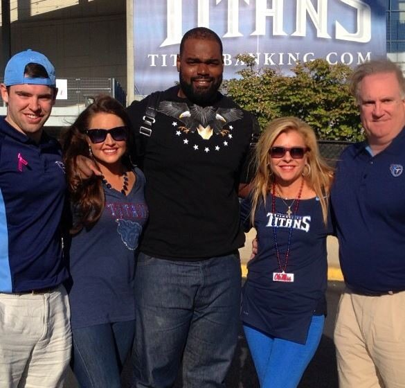 'The Blind Side's' Collins Tuohy Threw A Truly Spectacular ...   Blind Side Michael Oher Sister