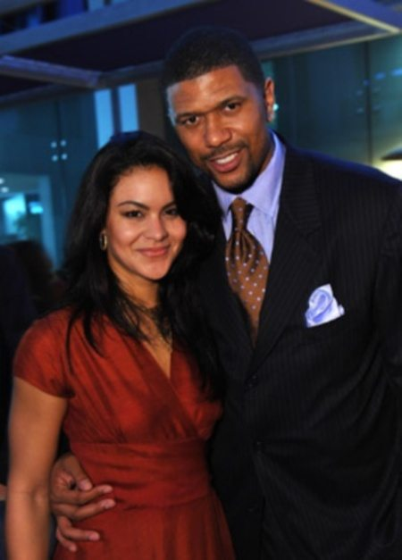 Jalen Rose's Wife, Girlfriend? Mauri Goens/Krissy Tery