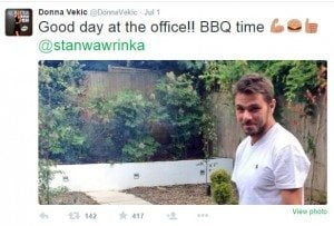 stan wawrinka donna vekic pictures
